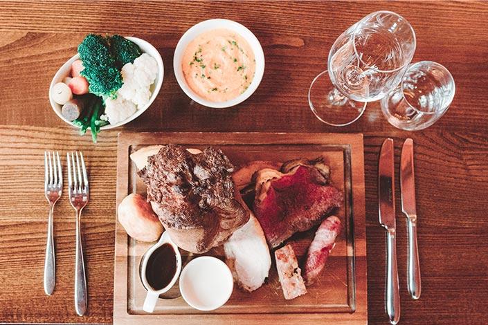 Restaurant Voucher Ideas - Sunday Lunch