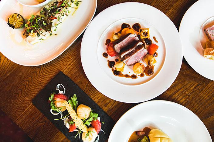 Restaurant Voucher Ideas - A La Carte Meal